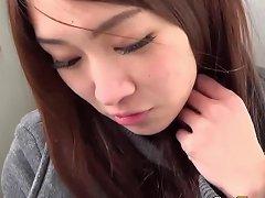 Horny Asian Rubbing Clit