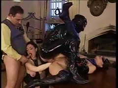 In A Latex Orgy