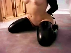 Latex Sub Girl  Up In Full Rubber
