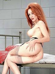 Jailed mom deep asshole insertion