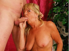 Ancient Blonde Broad Sucks Cock^hot 60 Club Mature Porn Sex XXX Mom Video Movie