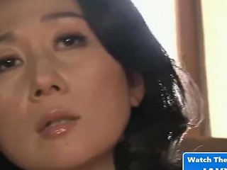 Asian Milf Home Alone With Stepson