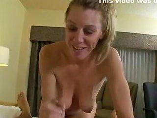 Petite All Natural Cougar Craves Big Cock Pov