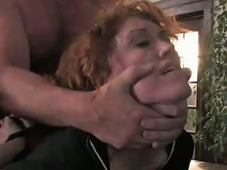 Horny Dude Makes Tied Up Bootylicious Brunette Bend Over For Rough Fuck