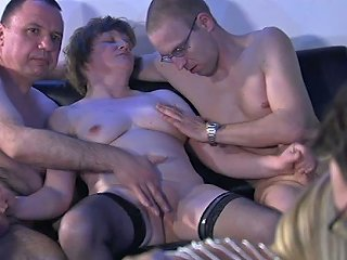 Several Kinky Couples Arrange Wild And Crazy Group Sex At Home