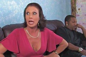 Splendid Vanessa Videl Goes Hardcore In Front Of Her Lovely Son