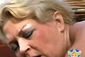 Blond German Mother With Tits Fucking