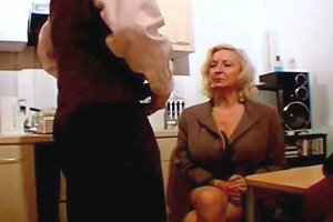 French Blonde Mature With Big Boobs And Young Guy Porn 5c
