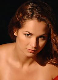 Zemani.com Janne - Hot Angel With Long Hair And Hot Body Is Burning You With Her High Sensuality On The Night Sky.