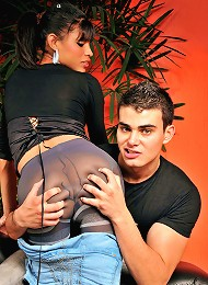Hardcore shemale sex with Erika Santiago