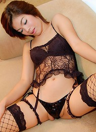 Watch teen ladyboy hard drilled and facialed!