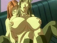 Hentai Mmf 3some With Busty Chick Getting Pussy Licked