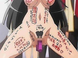GotPorn Sex Video - Hentai Schoolgirl Gets Humiliated