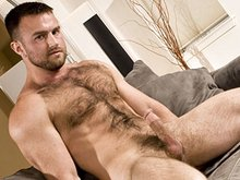 Hot and sexy hairy gay men solo video set
