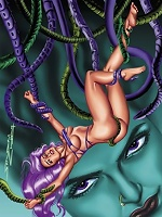 Tentacles rape anything that moves